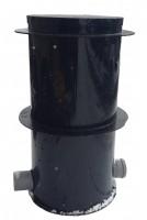 Revízna kanalizačná šachta s klapkou 800/1400-160 | Plastové revízne šachty