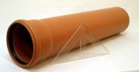 Kanalizačná rúra PVC 125x3,2x500 SN4 | Kanalizačné plastové rúry
