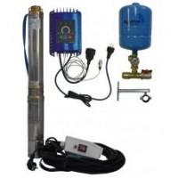Komplet AQUA ALADINO 96 C-11 230V; 0,55kW, 20m kábel (Qmax 60L/min,Hmax 77m) | Sety s frekvenčným meničom