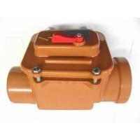 Kanalizačná klapka priebežná DN 125 | Kanalizačné priebežné spätné klapky