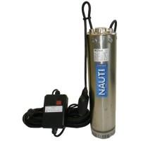 Ponorné celonerezové čerpadlo VN 3/6 F 230V 0,75kW 20m kábel s plavákom | Ponorné čerpadlá s výtlakom 60-69 m