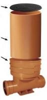 Revízna šachta so spätnou klapkou DN400/160 x 1500 | Revízne šachty s klapkou - hladké
