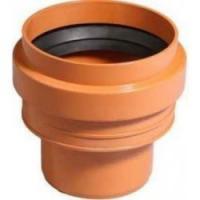 Kanalizačný prechod kamenina - PVC KGUS160 | Presuvky a prechodky